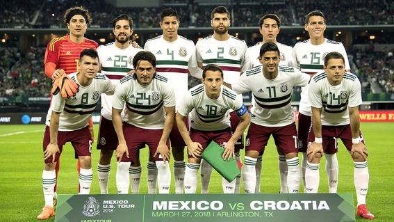 evolucion de los uniformes de mexico en los mundiales 14