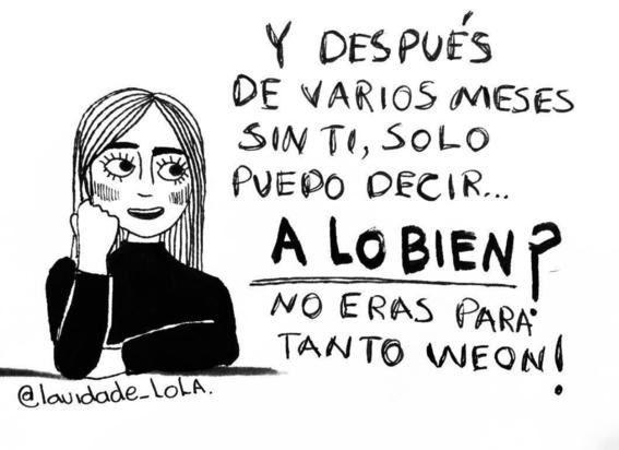 ilustraciones de lola sobre mujeres que ya no creen en el amor 21