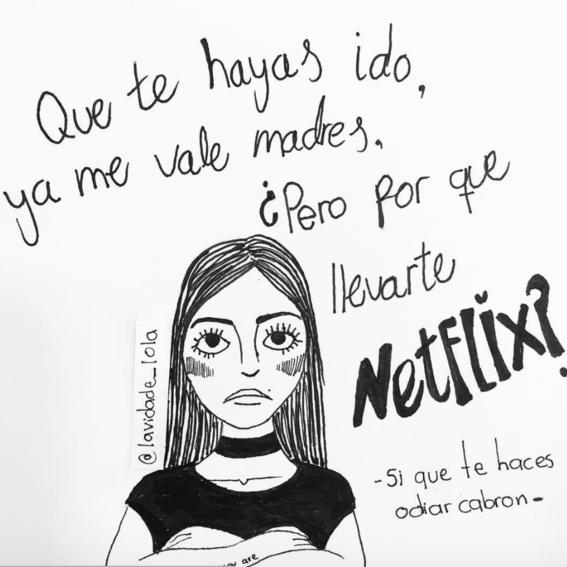 ilustraciones de lola sobre mujeres que ya no creen en el amor 3