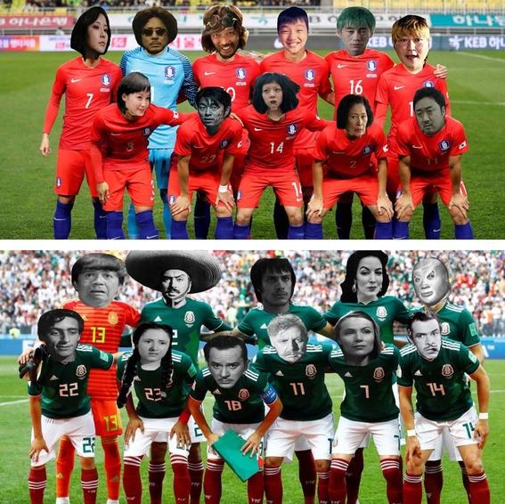 memes del juego entre mexico y corea del sur 1