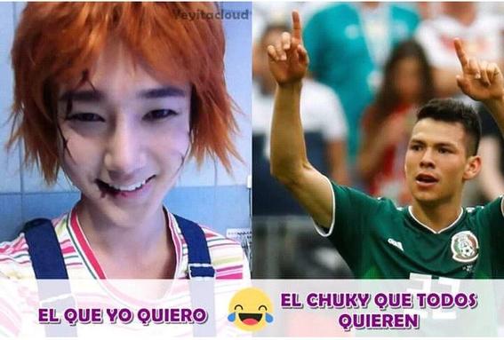 memes del juego entre mexico y corea del sur 2