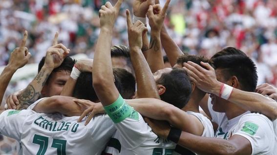 reacciones del juego mexico contra corea del sur 1
