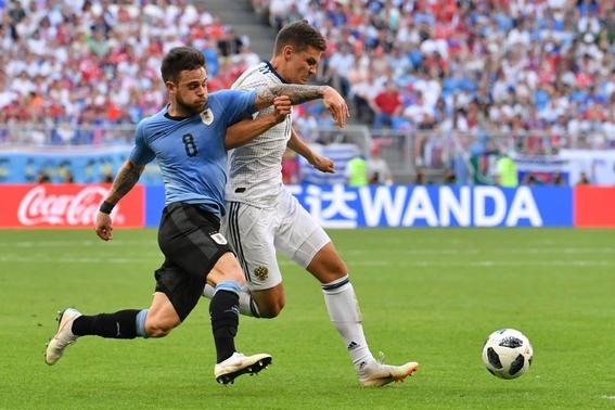 uruguay lidera grupo a del mundial 1
