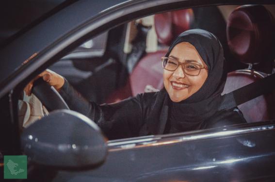 mujeres de arabia saudita manejan por primera vez 2