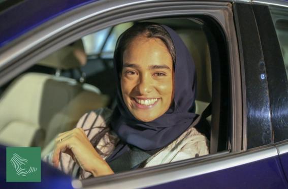 mujeres de arabia saudita manejan por primera vez 5