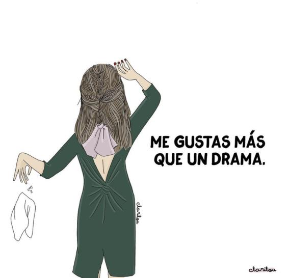 ilustraciones de carilou sobre los dramas que hacen las mujeres 13