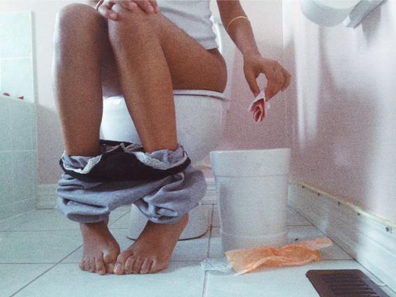 fotografias de rupi kaur sobre el sangrado menstrual 1