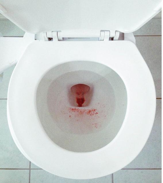 fotografias de rupi kaur sobre el sangrado menstrual 4