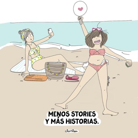 ilustraciones de carilou sobre los dramas que hacen las mujeres 15