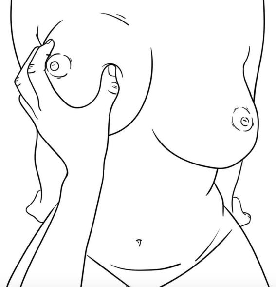 ilustraciones sin censura de los suenos eroticos que tiene una mujer real 2