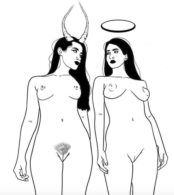 ilustraciones sin censura de los suenos eroticos que tiene una mujer real 15