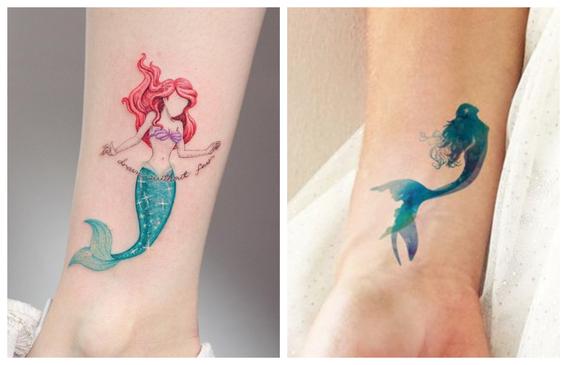 tatuajes de sirenas para resaltar tu belleza 1