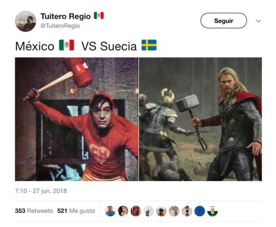 memes del juego de mexico vs suecia 1