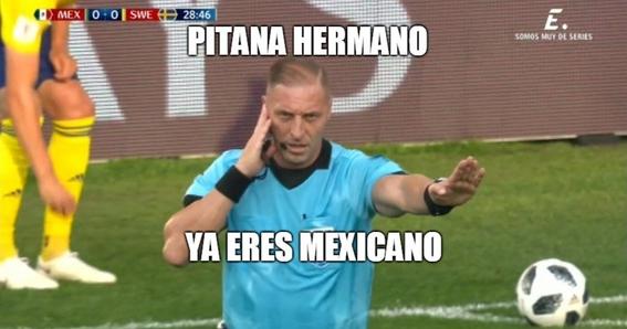 memes del juego de mexico vs suecia 12