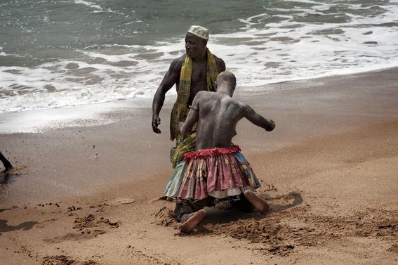 fotografias para ver de cerca un verdadero ritual vudu en africa 3