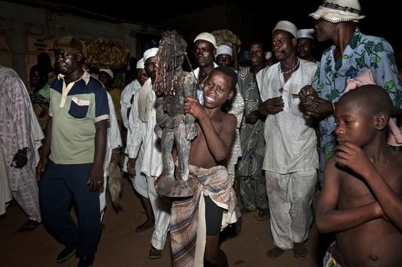 fotografias para ver de cerca un verdadero ritual vudu en africa 4