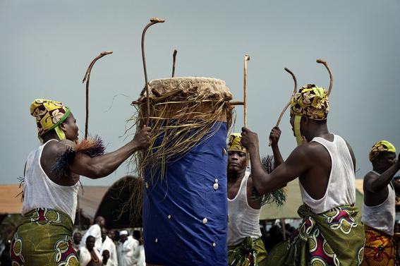 fotografias para ver de cerca un verdadero ritual vudu en africa 15