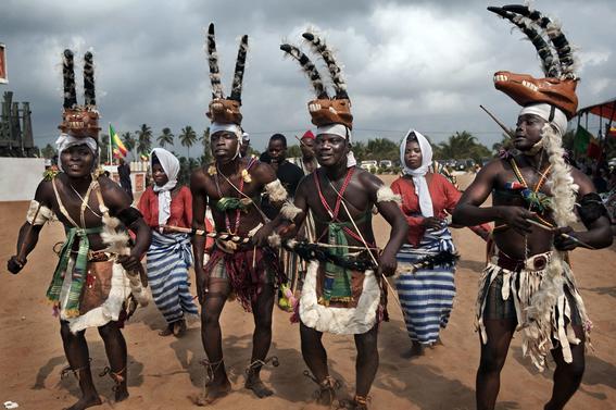fotografias para ver de cerca un verdadero ritual vudu en africa 19