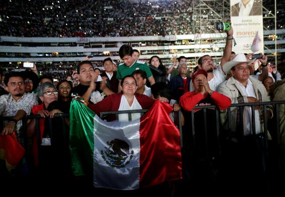 amlofest cierre de campana de amlo en el estadio azteca 4