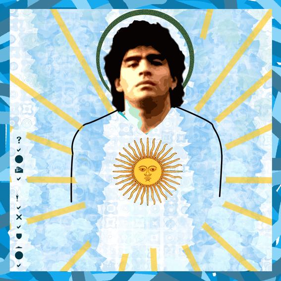 como ven los argentinos a diego armando maradona 1