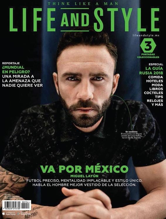 carlos vela en  portada de revista 3