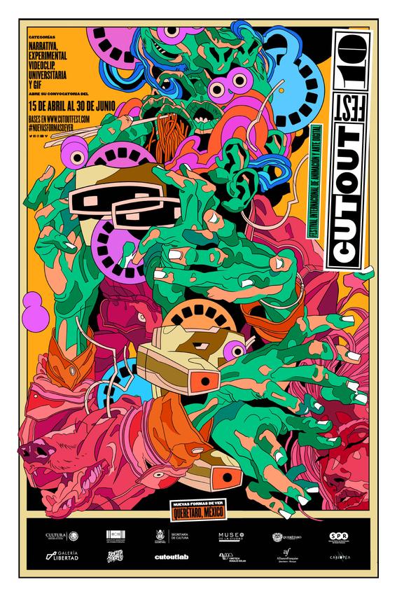 ya viene el cutout fest 2018 forma parte del mejor festival de animacion en mexico 1