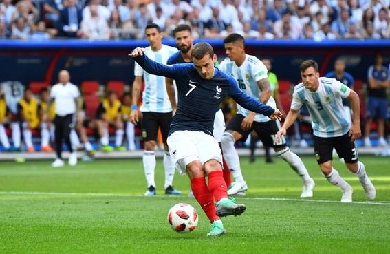 francia elimina a argentina y pasa a cuartos de final en el mundial de rusia 1