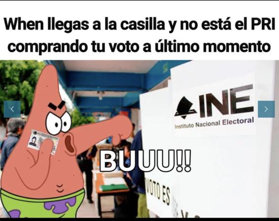memes de las elecciones en mexico 3