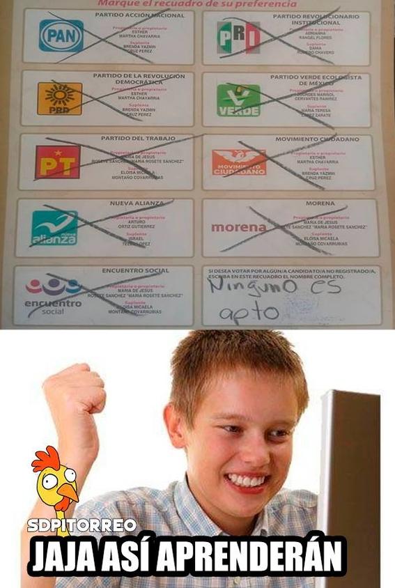 memes de las elecciones en mexico 8