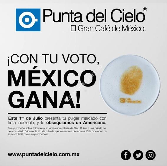 promociones por votar 1