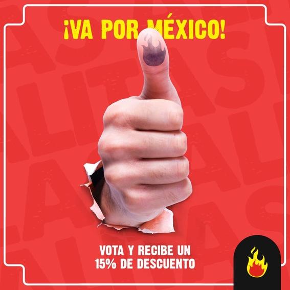 promociones por votar 8