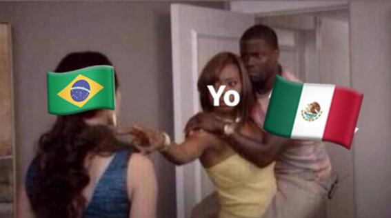 memes del juego entre mexico y brasil 9