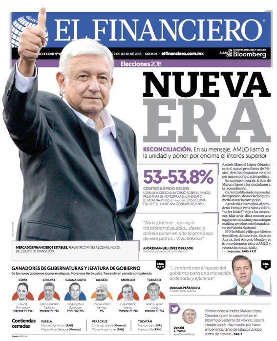 portadas diarios prensa mexico amlo 1
