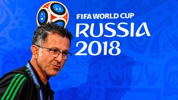 el papel de juan carlos osorio como tecnico de mexico en el mundial 1