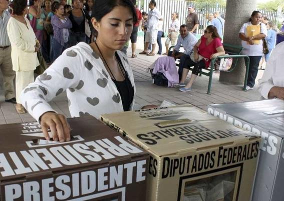 cronica de la jornada electoral funcionaria de casilla 1