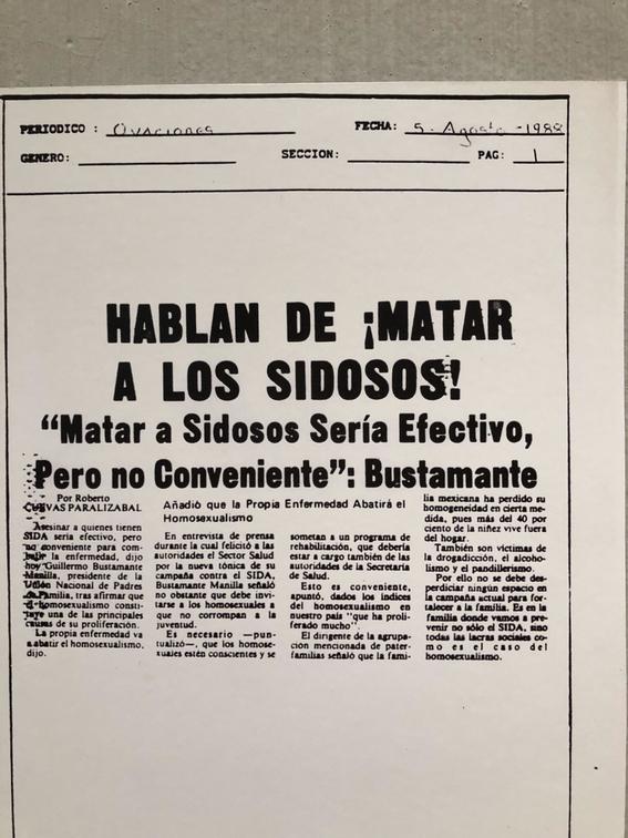 exposicion sida violencia y accion museo de la ciudad de mexico 1