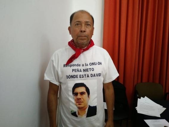 familiares protestan por desaparicion 1