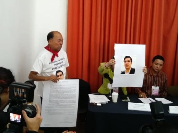 familiares protestan por desaparicion 2