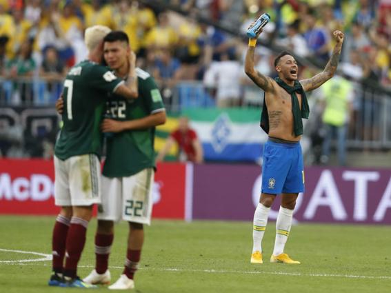 mexico puso todo contra brasil dice maradona 1