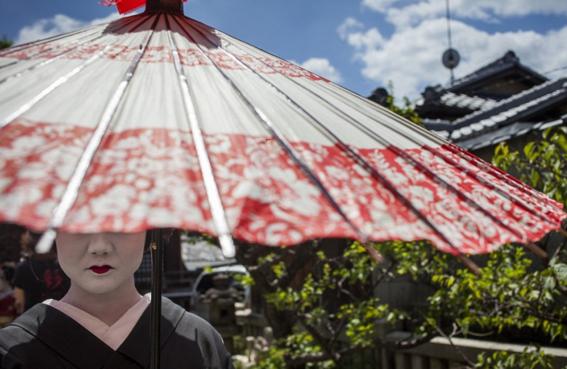 fotografias de como viven hoy las geishas 1