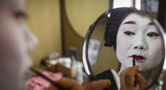 fotografias de como viven hoy las geishas 10