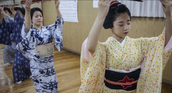 fotografias de como viven hoy las geishas 3