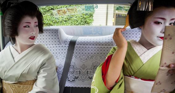 fotografias de como viven hoy las geishas 9
