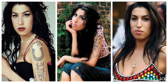 fotos del antes y despues de amy winehouse y otras famosas adictas a las drogas 1
