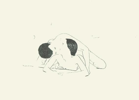 ilustraciones de salvador ballet sobre el erotismo en pareja 9
