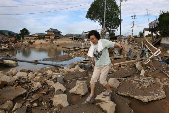inundaciones dejan mas de 100 muertos en japon 1