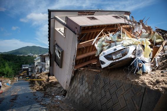 inundaciones de japon en imagenes 2
