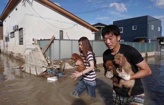 inundaciones de japon en imagenes 9