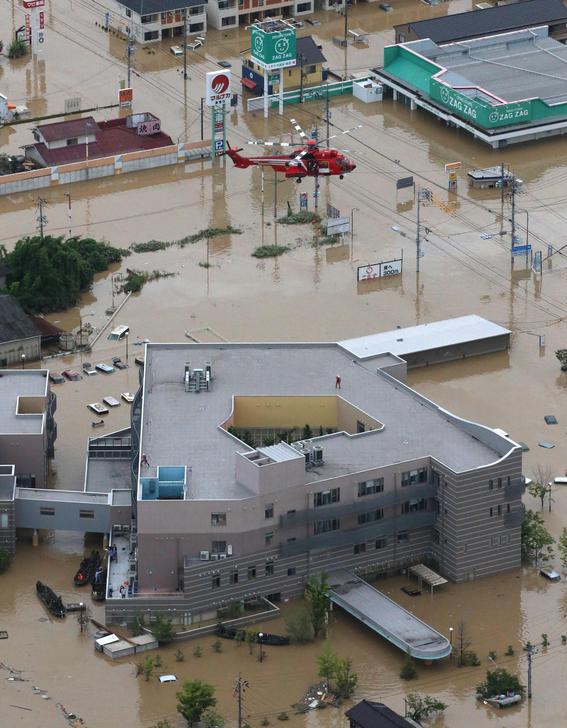 inundaciones de japon en imagenes 10