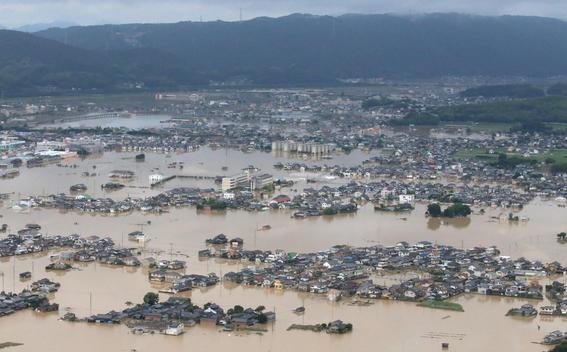 inundaciones de japon en imagenes 11